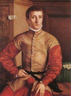 Portrait de jeune homme assit, Georg Pencz
