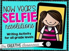 Who doesn't like a great selfie? This fun writing and selfie portrait activity is great for all grade levels. Help your students reflect on the past and plan for the future by making goals. This project makes a wonderful bulletin board display for peers, parents and others to enjoy!