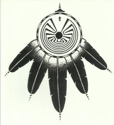 man in the maze symbol | ... : 2014 Native American MAN IN THE MAZE * DECAL * HOPI SYMBOL 14-470