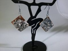 Check out this item in my Etsy shop https://www.etsy.com/listing/508283291/copper-with-stamped-solder-earrings