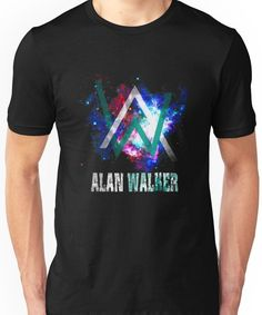 Luckyfridayf popular singer alan walker capless hoodies and sweatshirts for couples electronic - Alan walker logo galaxy ...