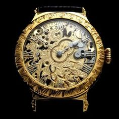 """I am happy to offer for sale this beautiful amazing large skeletonized dress THE NOBLE DESIGN WATCH that dates to 1919 and decorated of the HIGH QUALITY GOLD ENGRAVING. It was made by the """"Omega Factory"""" in Switzerland.  #watches #menswatches #vintage#vintagewatches #vintagemenswatches#wristwatches #audemarspiguet#buywatches #buyvintagewatches#buyvintage #patekphilippe #rolex #iwc#omega #antiquewatches #antique#oldwatches #fashion #fashionwatches#luxury#wandolec"""