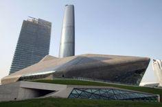 Zaha Hadid - Opera House - China.   Zaha Rulzzzz