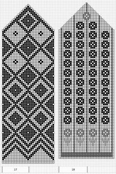 Mustrilaegas: A Kudumine / Knitting Knitted Mittens Pattern, Knit Mittens, Knitted Gloves, Knitting Socks, Knitting Charts, Knitting Stitches, Knitting Patterns, Knit Stranded, Chart Design