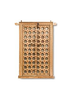 Reclaim the old-world charm by appreciating the unique craftsmanship and elegant designs of that era. Antique pieces are undoubtedly the best possible sources to transport the rich heritage of art and architecture of India's ancient culture to the present day world. This marvelous door panel comes with a solid frame that has been beautifully carved by skilled artisans. A series …