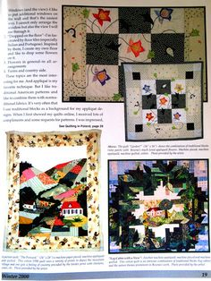 some of my very early works The Textile Cuisine: Quilting in Poland / Patchwork po polsku