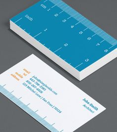 architect or engineer Business Card