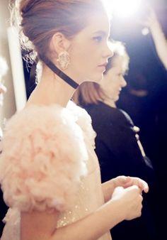Chanel Backstage, Barbara Palvin