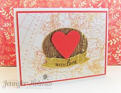 Handmade Valentine's Cards by Jennifer Holmes at the SEI Lifestyle Blog