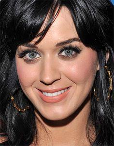Katy Perry... dark hair