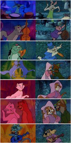 les Aristochats et Robin des Bois