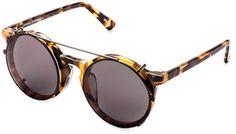 Matahari Clip-On Round Frame #sunglasses #womens #summer