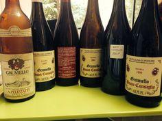 Verticale di #Grumello: 1970, 1995, 1999, 2001, 2005, 2007. #Buonconsiglio #Nebbiolo #Valtellina