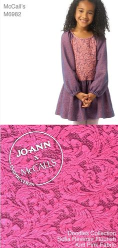 DIY Dress   Find fabric and @mccallpatternco from Joann.com