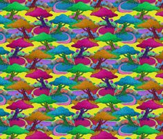 Fiddlesticks fabric by feverdream on Spoonflower - custom fabric