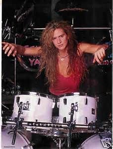 Blas Elias - Heavy Metal drummer from Slaughter. | Good looking dudes ...