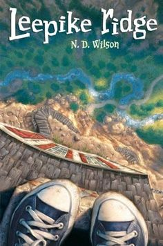 Leepike Ridge by N. D. Wilson. What an adventure! Based on the Odyssey, but completely contemporary, this tale even involves getting stranded in an underwater cave....