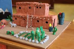 waldorf dwellings projects | waldorf 3rd grade building projects pueblo 1 waldorf inspired moms