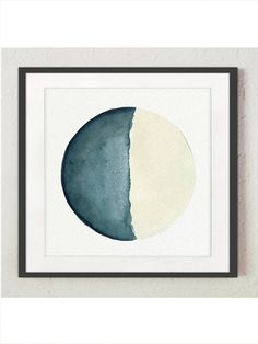 Moon Phase Watercolour Painting Bedroom Illustration. Living Room Decoration set of 4 Moon Phases. Blue Teal and Cream Wall Decor. Abstract Full Moon, Crescent Half Moon Art Print. Good Night Navy Poster. A price is for the set of four different square Moon Phase Art Prints as in the first Picture. Type of paper: Prints up to (42x29,7cm) 11x16 inch size are printed on Archival Acid Free 270g/m2 White Watercolor Fine Art Paper and retains the look of original painting. Larger prints are ...