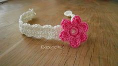 Crochet baby headband_cinta bebe ganchillo SDC10084