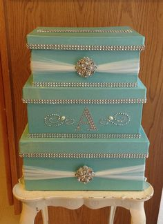 Wedding card box by Thatssolovely on Etsy, $70.00