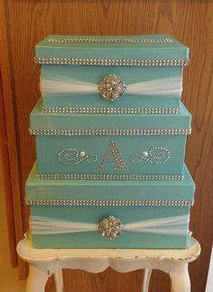 Wedding Card Box 1 - The Weddings Bling Wedding, Card Box Wedding, Trendy Wedding, Diy Wedding, Wedding Gifts, Money Box Wedding, Wedding Souvenir, Table Wedding, Wedding Favors