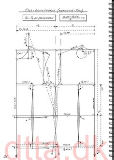 SYSTEM DTTA: PAGE 126 | Tailoring - patternmaking, cutting and sewing | THE DESIGN AND TECHNICAL TAILORING ACADEMY | TILSKЖRERAKADEMIET I KШBENHAVN (KBH)