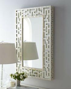 Fretwork Mirror Mirror Mirrors Bathroom Mirrors Cut Capiz Mirror 295