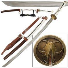 Japanese Hand Forged Battle Ready 1045 High Carbon Steel Bio-Hazard Katana Sword