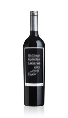 this wine label is great! we can printing custom labels for you too! #packaging #aecprinting