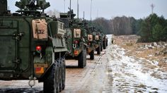 The United States plans to send armoured vehicles as well as fighter jets to take part in joint manoeuvres with the Finnish Defence Forces in May.