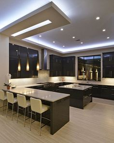 Sanca - Another beautiful kitchen with dark cabinets