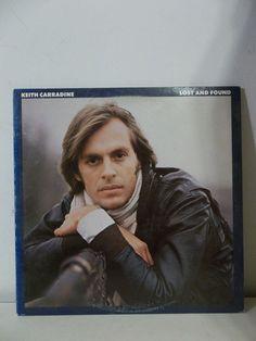 KEITH CARRADINE Lost And Found LP Vinyl Record 6E-114 Asylum 1978 #EasyListening