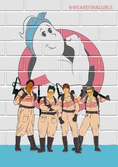 Ghostbusters 2016 (540×763) Cartoon Tv, Cartoon Styles, Ghostbusters Party, Kate Mckinnon, Ghost Busters, Fantasy Movies, About Time Movie, Film Music Books, Love Movie