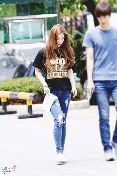 Red Velvet Irene Kpop Fashion 150710 2015