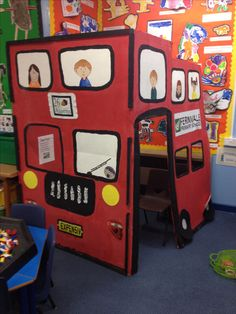Double decker bus role play