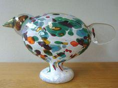 iittala イッタラ バード INDIAN FOWL 2006 BIRDS BY TOIKKA Glass Birds, Scandinavian Design, Tea Pots, Vase, Indian, Tableware, Photos, Dinnerware, Pictures
