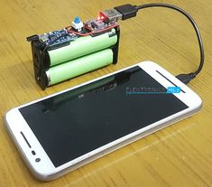 DIY Solar Battery Charger for 18650 Li-Ion Batteries - Electrical and Electronics - Mini Solar Panel, Solar Panel Battery, Battery Charger Circuit, Solar Charger, Kids Electronics, Electronics Projects, Diy Solar, Diy Hacks, Solar Phone Chargers