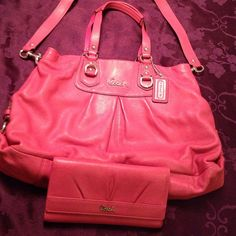 """Spotted while shopping on Poshmark: """"Authentic Coach Leather Purse"""