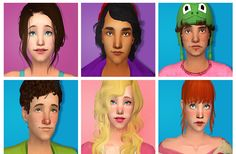 30 Days of Sim Making Challenge sims are up for download!  NOTE: They're all packaged without accessories and some of them are in base game clothes (cause I'm in the middle of reorganizing download...