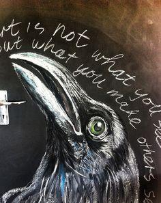 Joan Martin, Chalkboard drawing 2012 | Flickr - Photo Sharing!