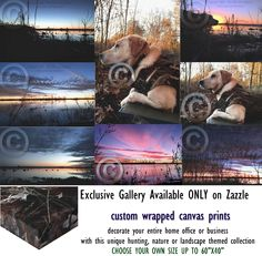 Showcase your own professional art gallery from this amazing wrapped canvas print collection offered exclusively by Thin Blue Line Graphics. Many to choose from. Select your own custom print size.