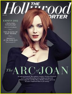 Christina Hendricks Covers 'Hollywood Reporter'