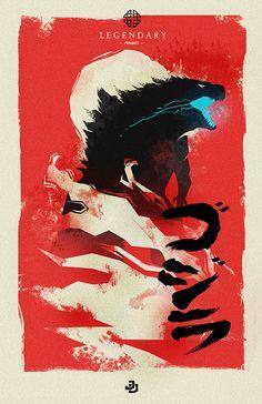 Godzilla by manof2moro