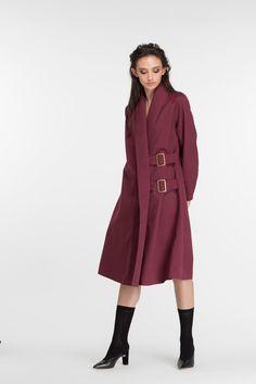 Nezu Coat | Plum