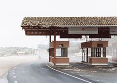 Disused military checkpoints catalogued in photography series.