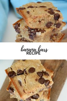 Banana Bars Recipes