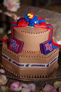 Kansas Jayhawks chocolate cake for the groom Grad Pics, Kansas Jayhawks, Cake Gallery, Our Wedding, Wedding Stuff, Groomsman Gifts, Cake Designs, Amazing Cakes, Chocolate Cake