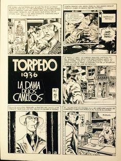 Torpedo by Jordi Bernet - Comic Strip Comic Books Art, Book Art, Jordi Bernet, Sin City, Comic Page, Reno, Comic Covers, Comic Artist, Cartoon Art