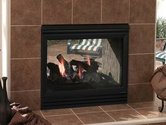 The World S First See Thru Indoor Outdoor Gas Fireplace